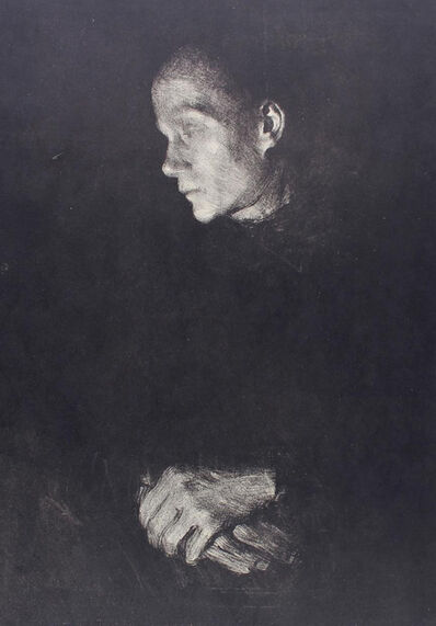 Käthe Kollwitz, 'Working Woman in Profile facing left ', 1903