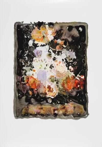 """Joachim Schulz, '""""Vase mit Blumen"""" nach Hendrick de Fromantiou um 1670 bis 1675 8/9', 2017"""