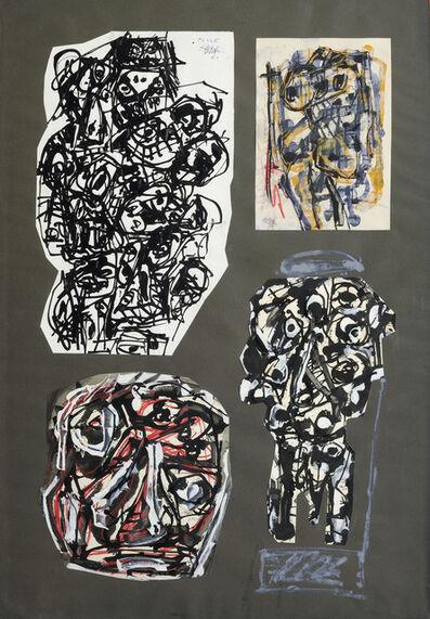 Antonio Saura, 'Montage - Deux Dames, Foule et Tete', 1960