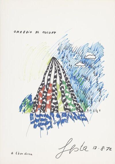 Tano Festa, 'Omaggio al colore', 1972