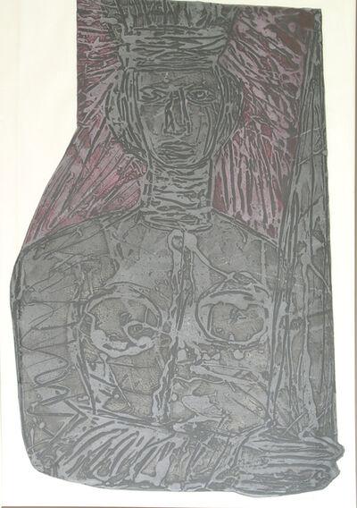 Choco, 'Hommage to Portocarrero', ca. 1990