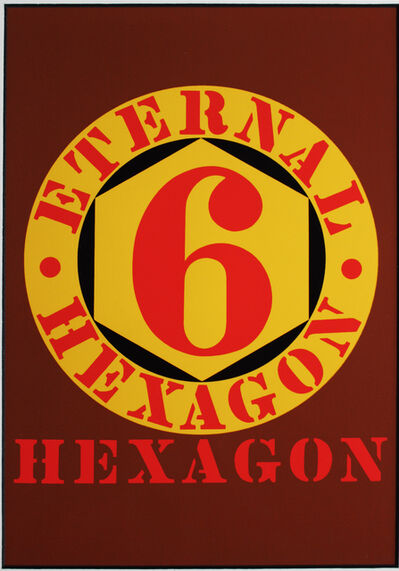 Robert Indiana, 'Eternal Hexagon for Art Basel', 1987