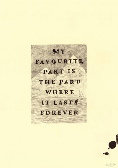 Keaton Henson, 'My Favourite Part', 2016
