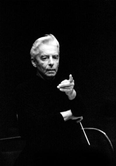 Dieter Blum, 'Herbert von Karajan', 1981