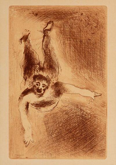 Marc Chagall, 'La Colère II (Wrath II), from Les Sept péchés capitaux (The Seven Deadly Sins)', 1926
