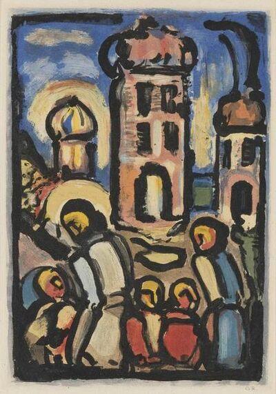 Georges Rouault, 'CHRIST ET LES ENFANTS (C./R. 262)', 1935