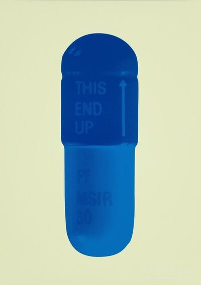 Damien Hirst, 'The Cure - Sherbet Green/Royal Blue/Ocean Blue', 2014