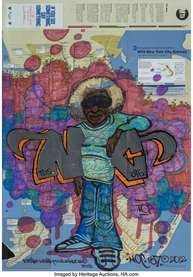 NOC 167, 'Afro Map', 2012