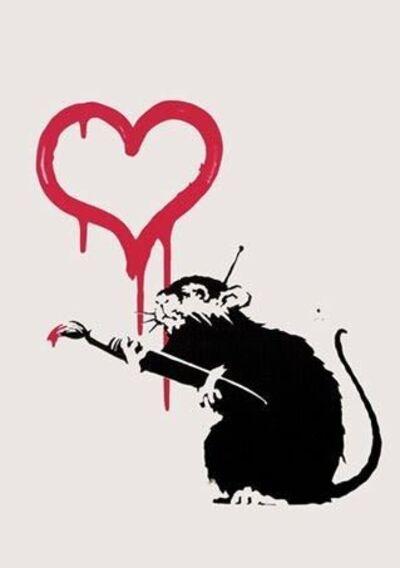 Banksy, 'Love Rat (Signed Print)', 2004