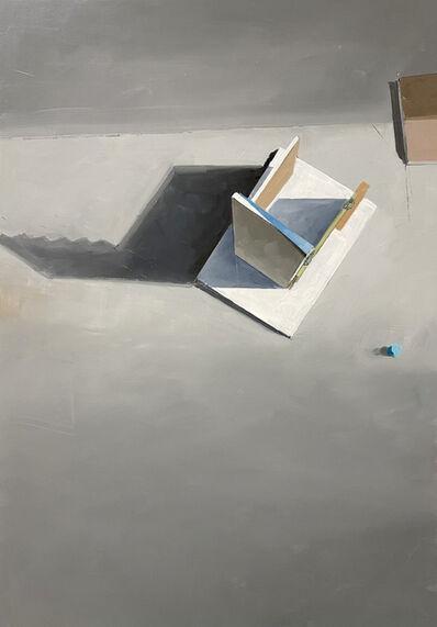 Jenny Brillhart, 'Zigzag at 3pm', 2021