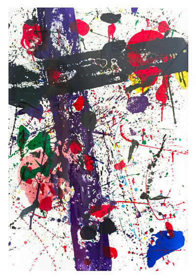Sam Francis, 'Untitled, from Eight by Eight to Celebrate the Temporary Contemporary (Lembark 263)', 1984