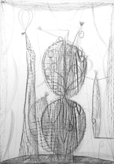 Dirk Zoete, 'Study for Cactus Species IV', 2017