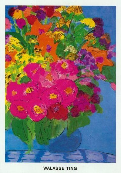 Walasse Ting 丁雄泉, 'Flowers', 1985