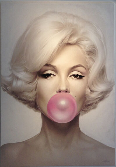 Michael Moebius, 'Marilyn Monroe Pink Bubble Gum', 2015