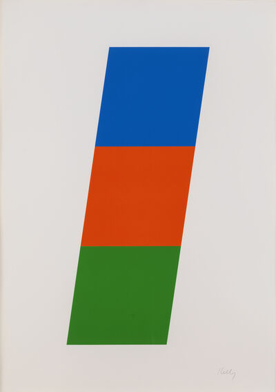 Ellsworth Kelly, 'Blue Red-Orange Green', 1970-1971