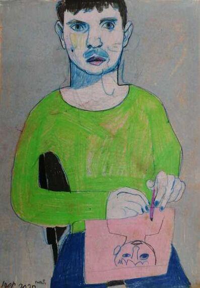 Igor Moritz, 'Selfportrait in Paris', 2020
