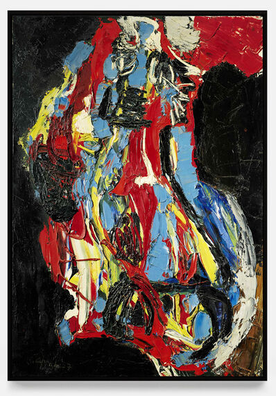 Karel Appel, 'Nu abstrait ', 1957
