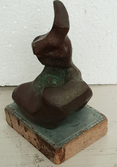 Niranjan Pradhan, 'Bronze sculpture by Modern Indian sculpture Artist Niranjan Pradhan'