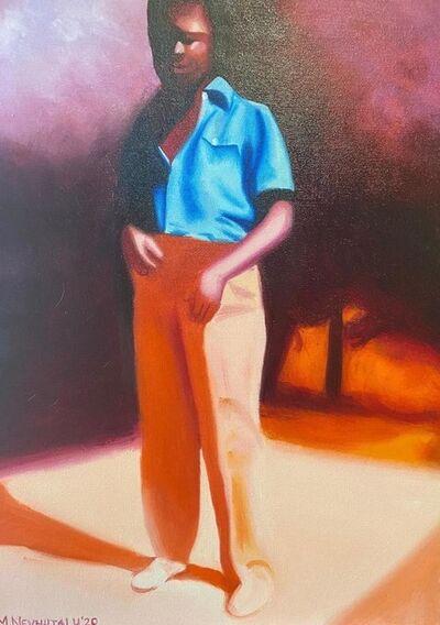 Mashudu Nevhutalu, ' Cherry Blossom Pants', 2020