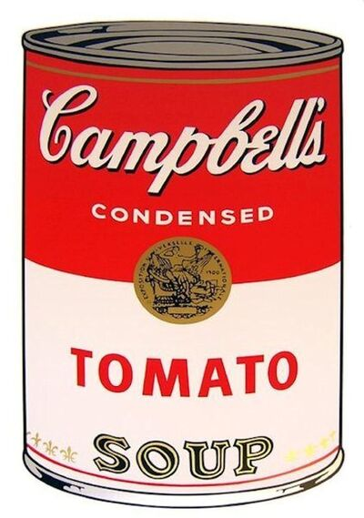 Andy Warhol, 'Campbells Soup Tomato - Sunday B. Morning (After)'