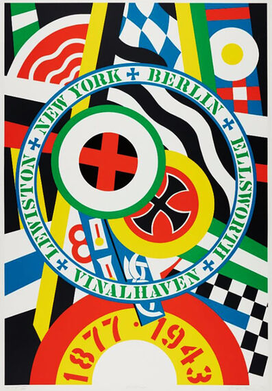 Robert Indiana, 'THE HARTLEY ELEGIES - KvF IV', 1990