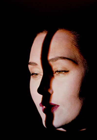 Erwin Blumenfeld, 'Line on Face, New York', 1947-1949