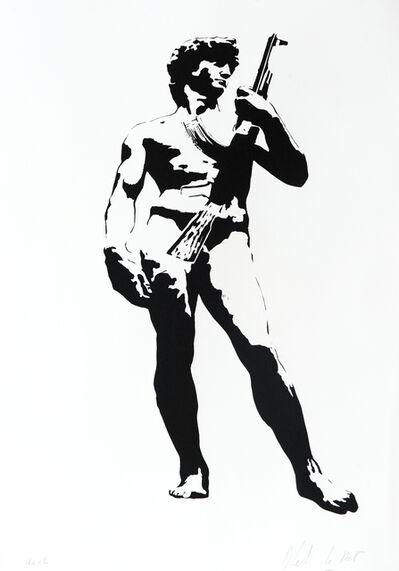 Blek le Rat, 'David With Kalashnikoff', 2007