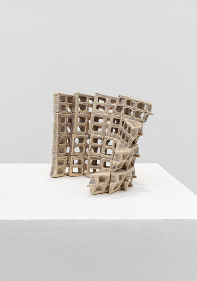Nazgol Ansarinia, 'Attempts at building a wall', 2019