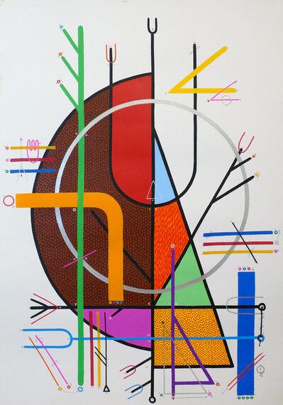 """Sixe Paredes, '""""COSMOVISIÓN 01""""', 2010"""