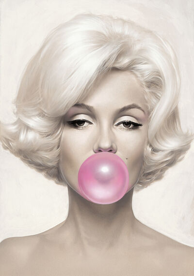Michael Moebius, 'Marilyn Monroe, Bubblegum Pink', 2015