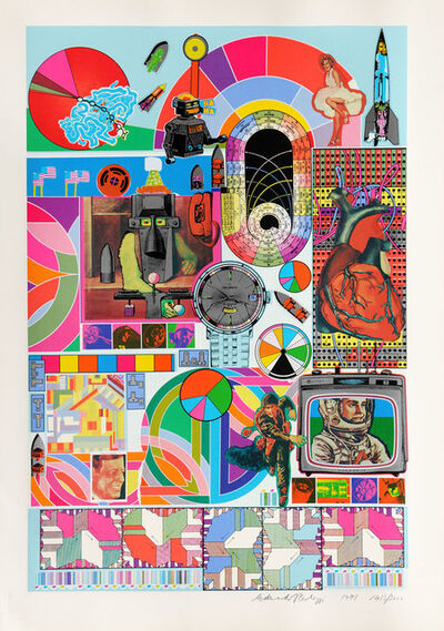 Eduardo Paolozzi, 'B.A.S.H', 1971