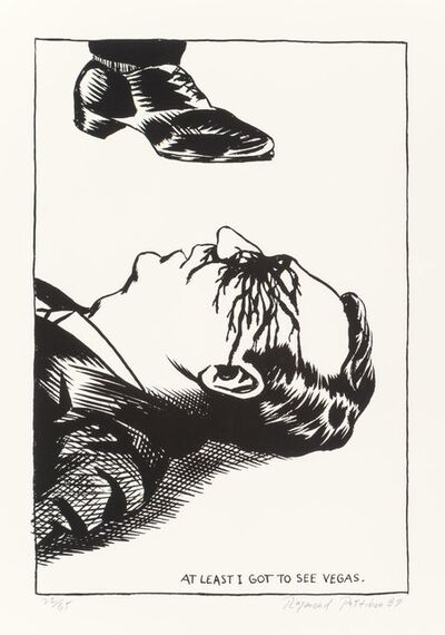 Raymond Pettibon, 'At Least I Got to See Vegas', 1989