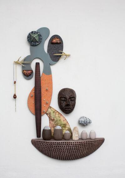 Juan Pablo Garza, 'Asomarse ya no es interior (Barro tal vez)', 2018
