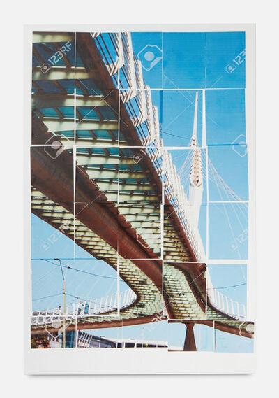 Gili Tal, 'Places for Connection (Zubizuri Bridge, Bilbao), 2019', 2019