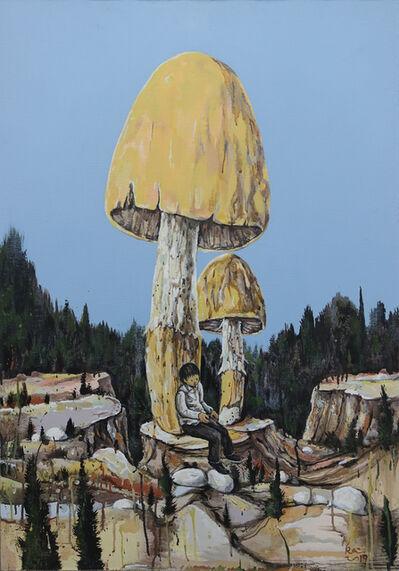 Li Jikai 李继开, 'Mushroom, forest, boy', 2019