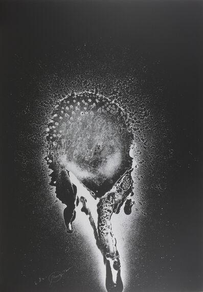 Otto Piene, 'schwarzer Sonnentau', 1972