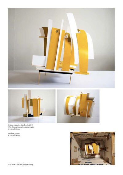 Zheng Mengzhi, 'Maquette Abandonnee No31', 2017