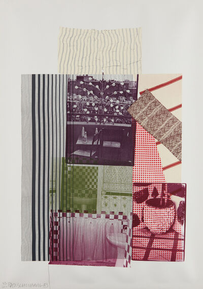 Robert Rauschenberg, 'Pre-Morocco, from Eight by Eight to Celebrate the Temporary Contemporary', 1983