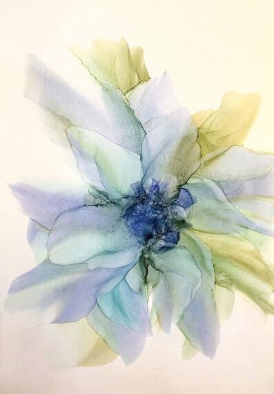 Oleg Yurov, 'Green ephemeric Flower', 2019
