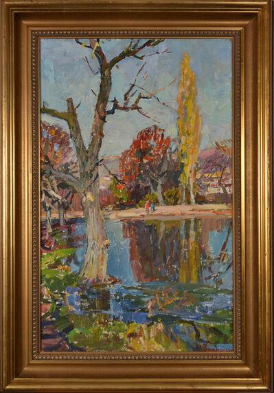 Valentine Bernadsky, 'Old tree', 1989