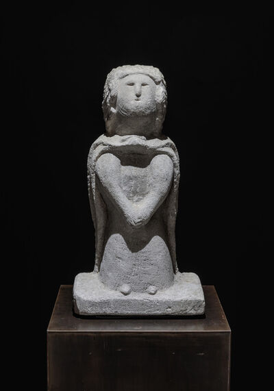 William Edmondson, 'Lady with Cape', 1935-1940