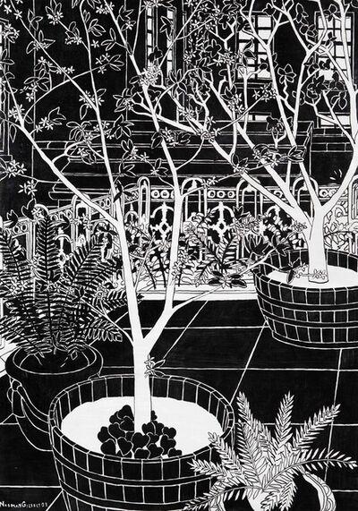 Norman Gilbert, 'Blossom (Tree) B&W', 2009