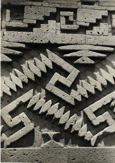 Josef Albers, 'Detail of stonework, Mitla', ca. 1937