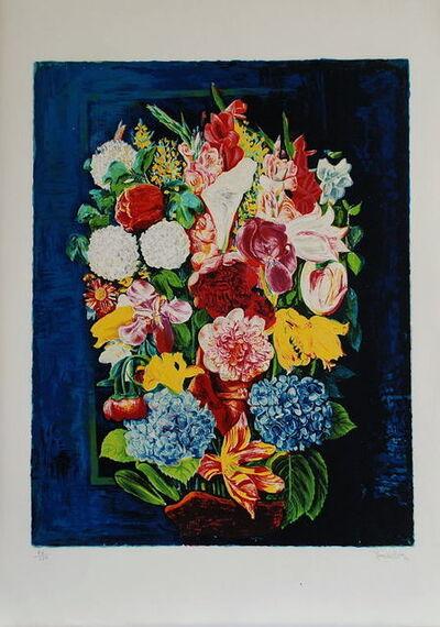 Moise Kisling, 'Bouquets de Fleurs', 1952