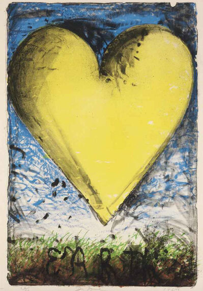 Jim Dine, 'The Earth (The Yellow Heart)', 1984