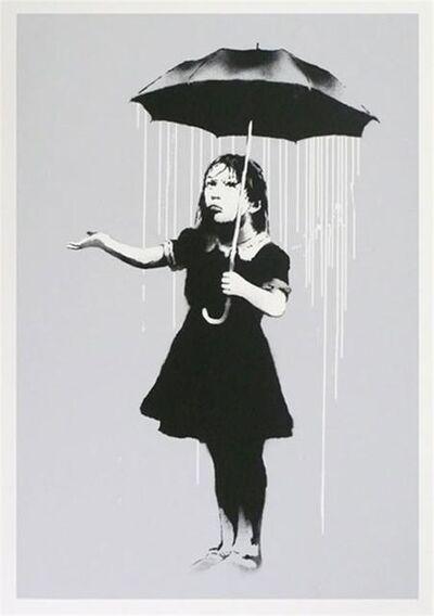 Banksy, 'Nola (White Rain) - Signed', 2009