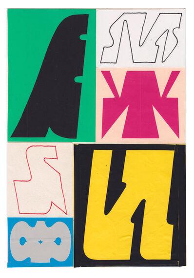 Jeroen Erosie, 'Sketchbook page II', 2019