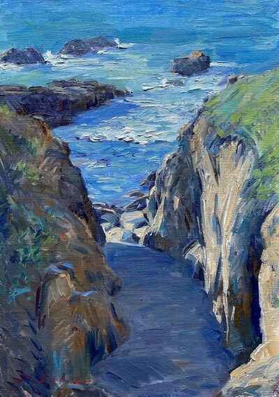 Tina Orsolic Dalessio, 'South Shore Cove, Point Lobos', 2020