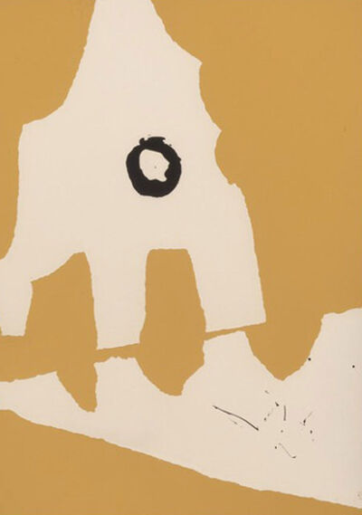 Robert Motherwell, 'Ten Works by Ten Painters: Untitled, from X + X 1964', 1964
