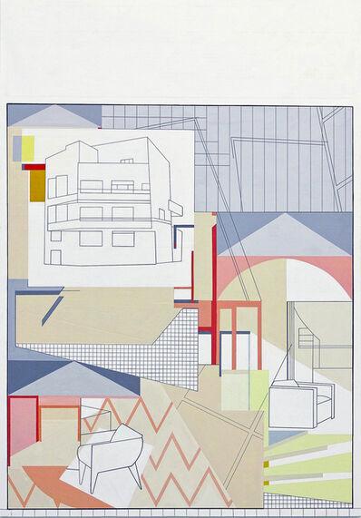 Arantxa Etcheverria, 'Blue Studio', 2016